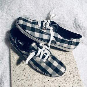 KEDS Checkered Sneakers sz 7